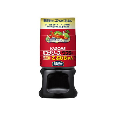 カゴメ カゴメ 醸熟ソースウスターこぶりちゃん 160ml