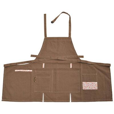 ディック ガーデン胸付エプロン GF-210 ブラウン