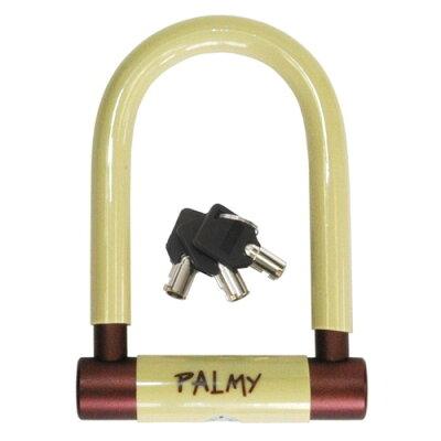 パルミー PALMY P-ES-101AL アルミシャックルロック アイボリー/ブラウン 139-00074