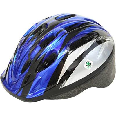 パルミー PALMY P-MV12 パルミーキッズ ヘルメット シルバー ブルー M26 154-00046