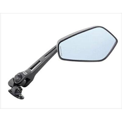 TANAX AEX6B カウリングミラー6B ブルー鏡 ブラック