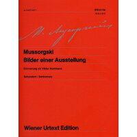 ピアノ 楽譜 ムソルグスキー | ウィーン原典版 76 展覧会の絵