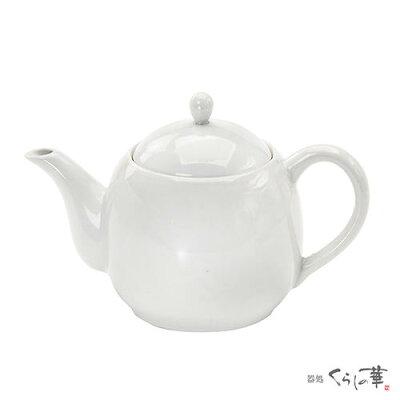 うま茶 MF ポット  筒型茶こし付き ホワイト 050783