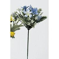 アスカ/ミニフラワーピック ライトブルー/A-32387-19 造花 フラワーブーケ・ブッシュ・ピック
