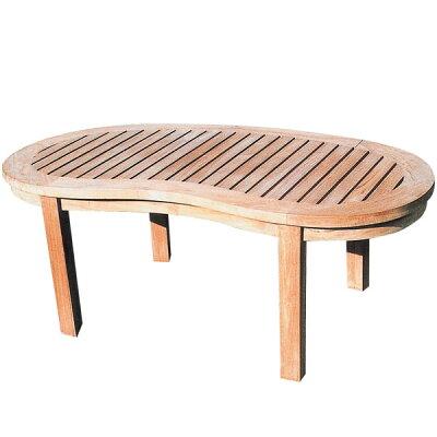 【チーク野外用家具】バナナテーブル(37111)