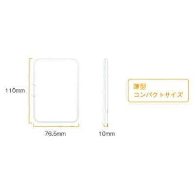 グリーンハウス SDカードケース 12枚収納 ホワイト GH-CA-SD12W(1コ入)