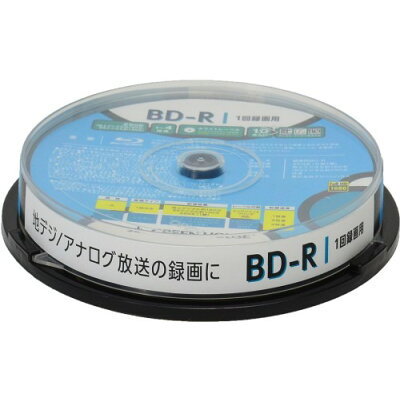 GREENHOUSE 1回録画用BD-R GH-BDR25B10