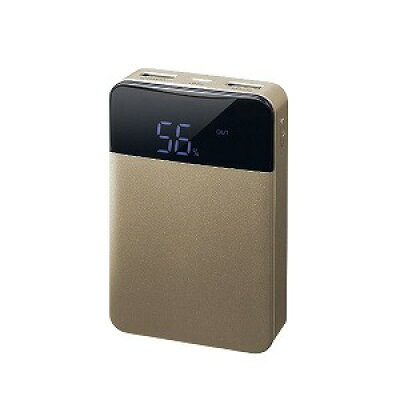 GREEN HOUSE モバイル充電器 10000mA GH-BTF100-GD