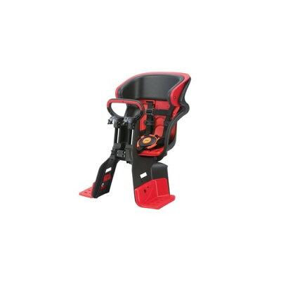 自転車用チャイルドシート 前用 子供乗せ 5点式ベルト FBC-011DX3 レッド(1個)
