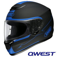 SHOEI ショウエイ 4512048367473 QWEST BLOODFLOW TC-2 BLUE BLACK XL