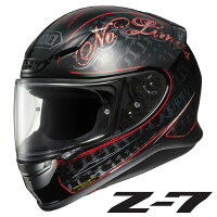 SHOEI Z-7 INCEPTION TC-1 RD/BK L