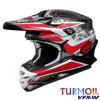 SHOEI ショウエイ オフロードヘルメット VFX-W TURMOIL ブイエフエックス-ターモイル ヘルメット サイズ:XL 61cm