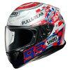 SHOEI ショウエイ フルフェイスヘルメット Z-7 MARQUEZ POWER UP! ゼット-セブン マルケス パワーアップ! RED WHITE ヘルメット サイズ:XL 61cm