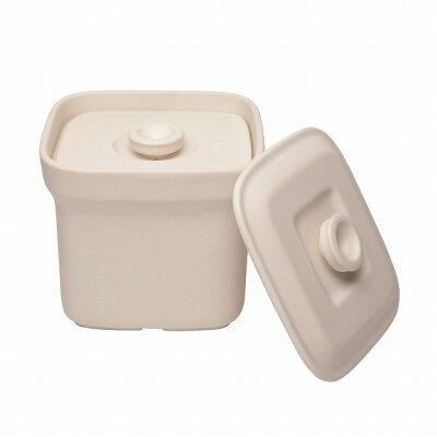 萬古焼 和食器  クッキングボックス ホワイト