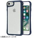 チューンウェア ハイブリッドシェル for iPhone7 ネイビー TUN-PH-000531(1コ入)
