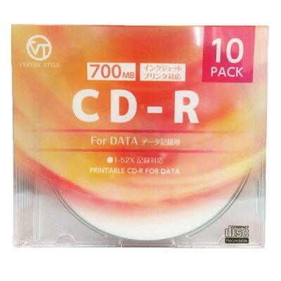データ用CD-R 10枚ケース 10CDRD.700MBCA(10枚入)