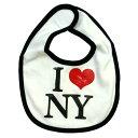 タイニーベビービブ《I LOVE NY/アイラブニューヨーク》 よだれかけ/スタイ