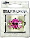 ゴルフ マーカー - ドクロ ムラサキ