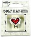 ゴルフ マーカー BG-20 ハート レッド