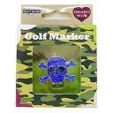 ビューティーネイラー BEAUTY GOLFER ゴルフマーカー スカル GMN-5 ブルー 1206424
