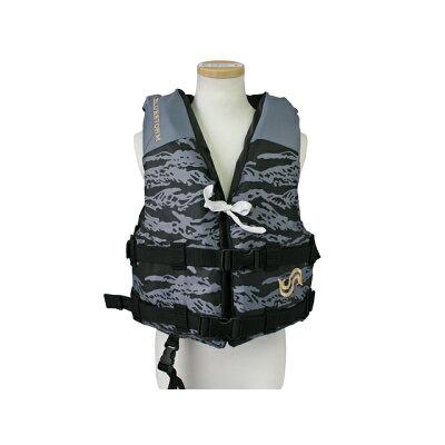 ブルーストーム BLUESTORM ファミリー ライフジャケット Lサイズ 120-140cm未満 カモ BSJ-210Y-Lc
