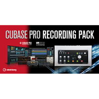 Steinberg Cubase Pro Recording Pack