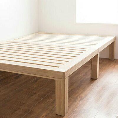 天然木総桐すのこベッド セミシングル