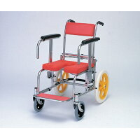カワムラサイクル 入浴・シャワー用車いす 病院・施設用 / KS-2 レッド