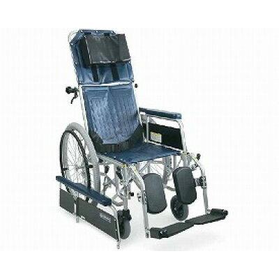 スチール製フルリクライニング自走用車椅子 RR42-N(RR40-Nの後継商品です) 【カワムラサイクル】