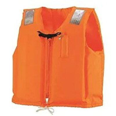 (国土交通省型式承認ライフジャケット 小型船舶用救命胴衣 C-II型 オレンジ)