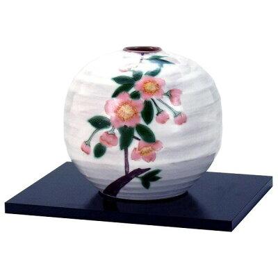 九谷焼 4.5号一輪生 彩花文 N161-10