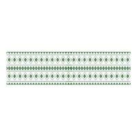 Scandinavian Pattern Collection インテリアレーステープ Borje Ostrobothnian Man 緑 68mm×5m SPC-668