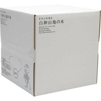 白神山地の水 バックインボックス(20L)