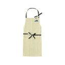 イデア idea ブルーノ BRUNO ショートエプロン ホワイト BHK128-WH
