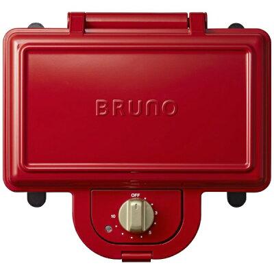 BRUNO ホットサンドメーカー ダブル BOE044-RD