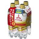 アサヒ飲料 三ツ矢サイダーWPET485ml3+1
