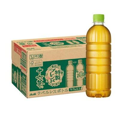 アサヒ 十六茶 ラベルレスボトル(630mL*24本入)