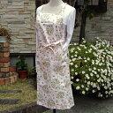 JMY1581 川島織物セルコン ハドンホールトレリス エプロン ピンク
