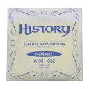 history / ヒストリー hegsn032 エレキギター弦 a-5th .032  バラ弦