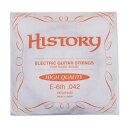 history / ヒストリー hegsh042 エレキギター弦 e-6th .042  バラ弦