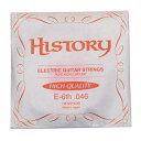 history / ヒストリー hegsh046 エレキギター弦 e-6th .046  バラ弦