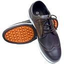 フットテック Foot Tech スパイクレスシューズ ブラウン FT-303