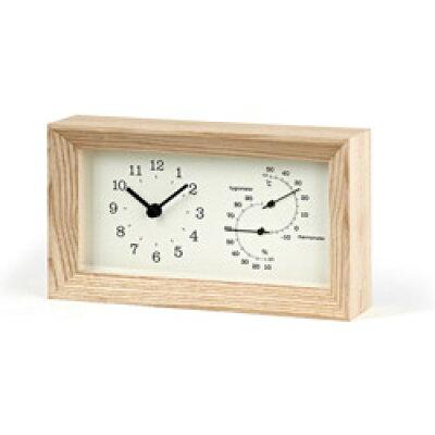 目覚まし時計 アラームクロック TL -LC13-14 FRAME   温湿時計 子供 大