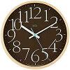 Lemnos AY clock ブラウン LC09-17 BW