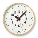 レムノス ふんぷんくろっく Sサイズ 掛け時計 YD14-08S lemnos fun pun clock