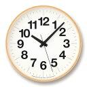 掛け時計 ナンバーの時計 Mサイズ Lemnos(レムノス) YK16-03 M