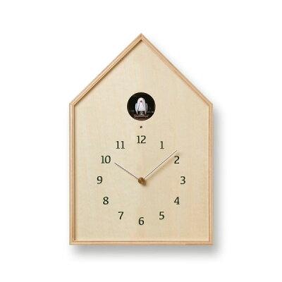 壁掛け時計 バードハウスクロック