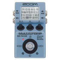 ZOOM ズーム MultiStomp MS-70CDR