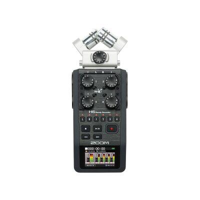 ズーム マイク交換式ハンディレコーダー ZOOM H6