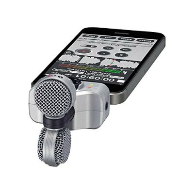 zoom ズーム msステレオマイクロフォン iphone / ipad 用 iq7